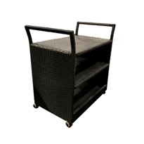 Drinks Serving Trolley | Rattan Wicker