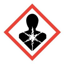 GHS - Chronic Health Hazard Labels- 50 x 50mm GHS08-50