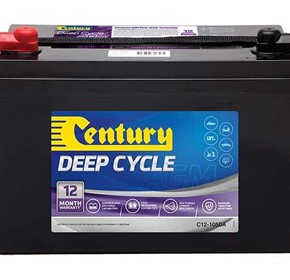 Solars & Chargers | Century 12V 105A Deep Cycle Batteries