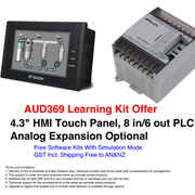 Learning Kit Offer - WECON Compact PLC + Small Screen HMI