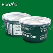 EcoAid Biodegradable Paper Denture Cup (276 Series)