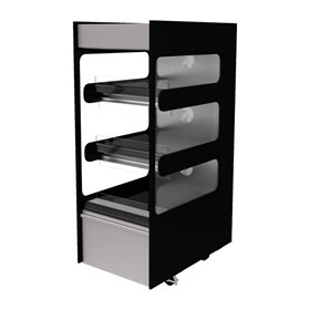 Flexeserve Zone 3 Tier Hot Food Grab & Go Floorstanding Unit