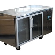 2 Glass Door Undercounter Refrigerator