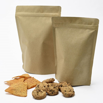 Kraft Paper Stand Up Pouches | Food Packaging