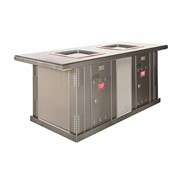 Commercial BBQ & Hotplate | Myles Double BBQ Cabinet with Extended Top