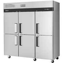 Turbo Air 6 x Half Door Top Mount Foodservice Freezer CM3F72-6