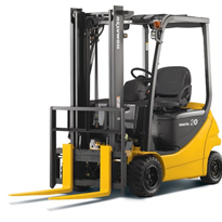 Electric Battery Forklift | Komatsu AE/AM Series