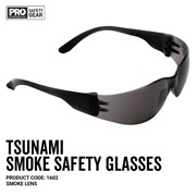 Prochoice® Tsunami Smoke Lens Safety Glasses - 1602