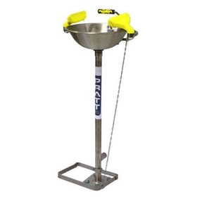 Store-Safe Free Standing Aerostream Eye Wash - Hand/Foot Operation