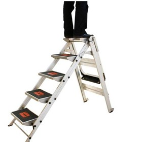 Safety Step Stair Ladder 5 Steps | Little Giant