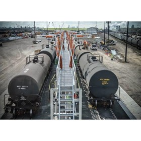 Railcar Loading Platforms & Fall Protection
