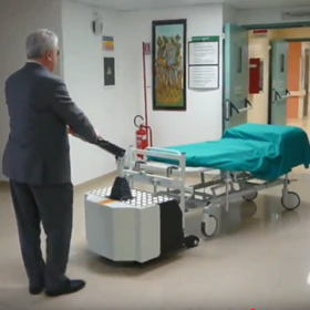 Electric Hospital Bed Mover, Pedestrian Tug
