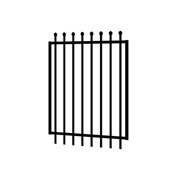 Security Fencing | Hercules Steel Gate 1200 x 1800mm – Black