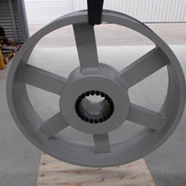 Pulleys for Crushing Plants