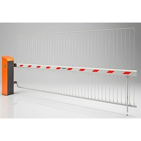 Safety Barrier Boom Gate | Skirt with climb-over prevention