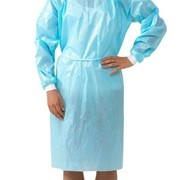 ASTM Level 2, PP+PE Impervious Medical Dental  Isolation Cover Gown