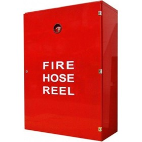Fire Hose Reel Cabinet with Lock
