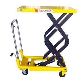 Hydraulic Double Scissor Lift Table- 350kg Capacity / 1.3m Lift