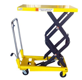 Manual Scissor Lift Table | 350kg Capacity - 1.3m Lift