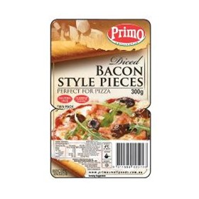 Diced Bacon Style Pieces 300g | Twin Pack | 2812