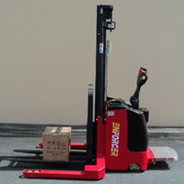 Enforcer Electric Walkie Stacker: 1,000kg