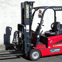 Enforcer 3-Wheeler Electric Forklift: 1,800kg