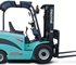 Enforcer 4-Wheeled Electric Forklift: 2,000kg