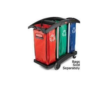 Cleaning Cart | Triple Capacity | Rubbermaid 9T92