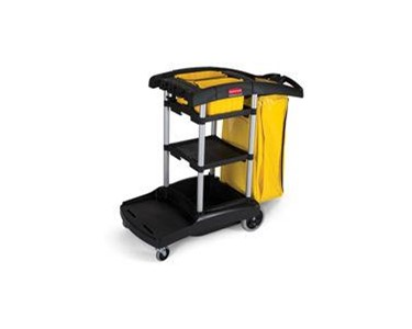 Cleaning Cart | High Capacity | Rubbermaid 9T72