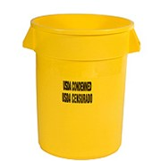 Round Container without Lid | Brute 2620-46 | Rubbermaid