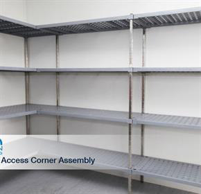 Cool Room, Freezer and Dry Store Shelving | M-SPAN