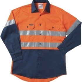 Hi Vis Shirt  | Koolgear - Tape Long Sleeve