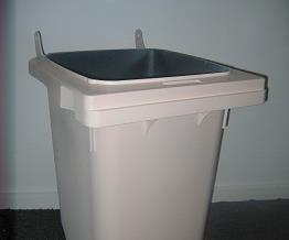 The bin prototype when it was sent to SULO