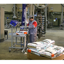 Handling sacks with the Vacuum Tube Lifter JumboSprint