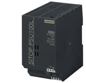 Power Supply | Siemens 1-phase, 24 V DC/10 A (PSU100L)