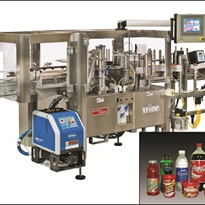 Roll-Fed Labelling System | Trine 4800