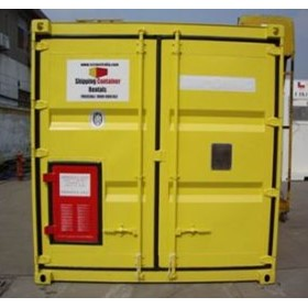 10ft Dangerous Goods Container | Tradecorp International