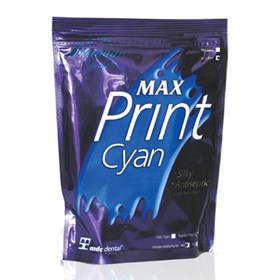Max Print Cyan Dustless Alginate
