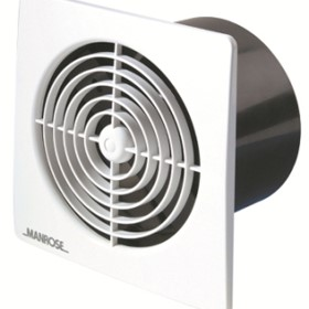 Wall Ceiling Fan Low Profile | Manrose Pro Series 150mm | FAN0594