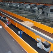 Frequency inverters keep package distribution centre of the move