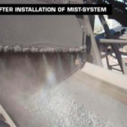 Dust Control | DAS™ High Pressure Mist Systems