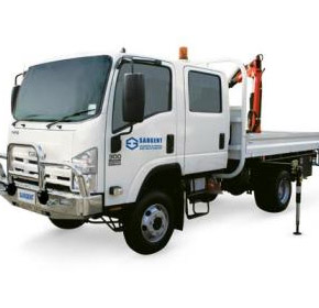 Rental Fleet | 4WD - 4 Door Truck with Crane