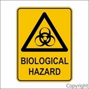 Warning Sign | Biological Hazard