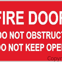 Fire Signs | Fire Door