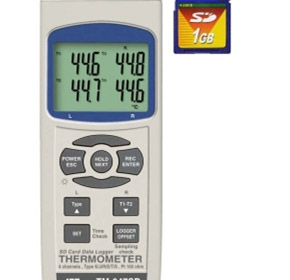 Intuitive Logging Thermometer with SD Card Storage