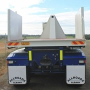 Tipping Container Trailer | Flat Top