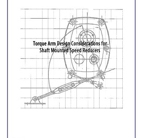 Torque arm design considerations for shaft-mounted reducers
