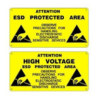 ESD Production Area Safety Signs | Iteco