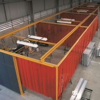 Weldflex Welding Strip Curtains | Flexshield