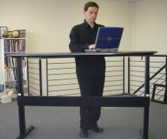 Height Adjustable Desks from Ergomotion